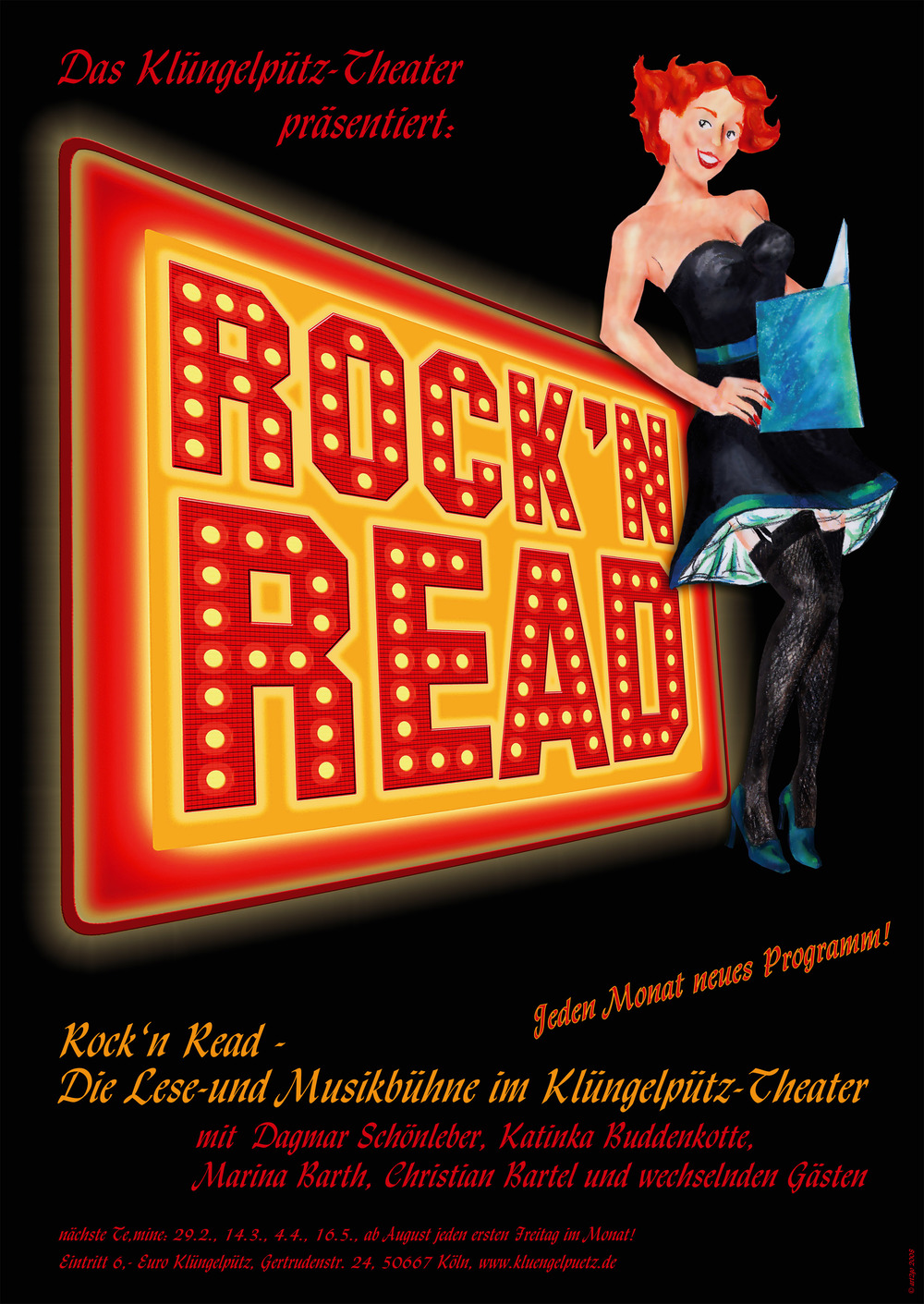 Rock 'n Read Plakat